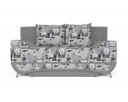 Прямой диван тканевый Талина