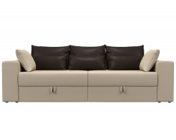 Прямой диван кожаный Мэдисон