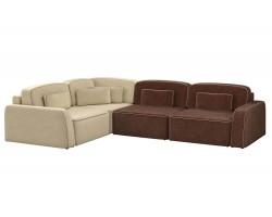 Прямой диван еврокнижка Гермес