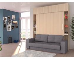 Прямой диван Шкаф-кровать-трансформер