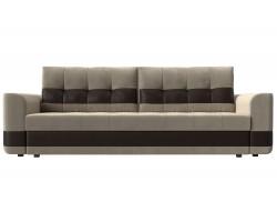 Прямой диван кожаный Честер