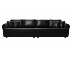 Прямой диван кожаный Милтон