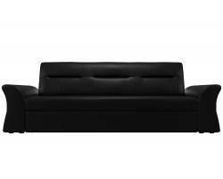 Прямой диван кожаный Бруклин